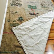 Alfombras de tela de saco idea de la imagen de inicio - Alfombra yute ikea ...
