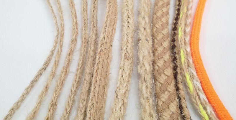 nuestra gama de productos incluye cordones para el calzado cuerdas de algodn nylon poliamida polister polipropileno etc envenos su muestra para - Cuerda De Yute